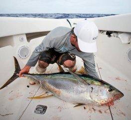 Tuna time! Photo courtesy of Steve Dougherty from Florida Sport Fishing Magazine