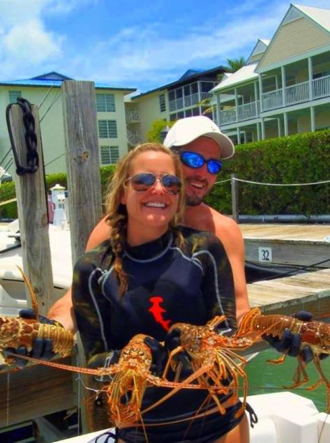 Duck Key lobstering
