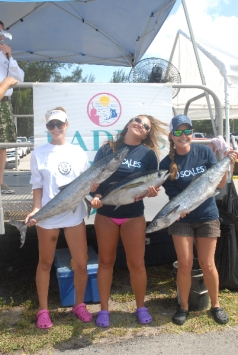 Ladies Fish-Off weigh in