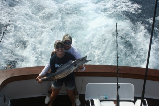 Wahoo caught off Andros
