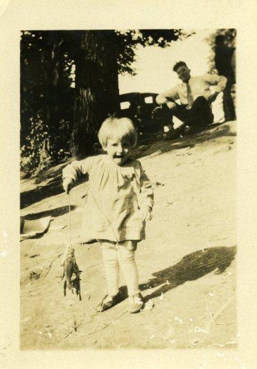 Grandma Lobeck, 1929.