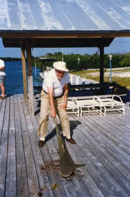 Papa Lobeck at Linderman Key