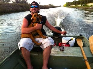 Cruisin' in the john boat