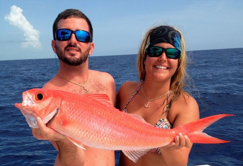 queen snapper in the Bahamas
